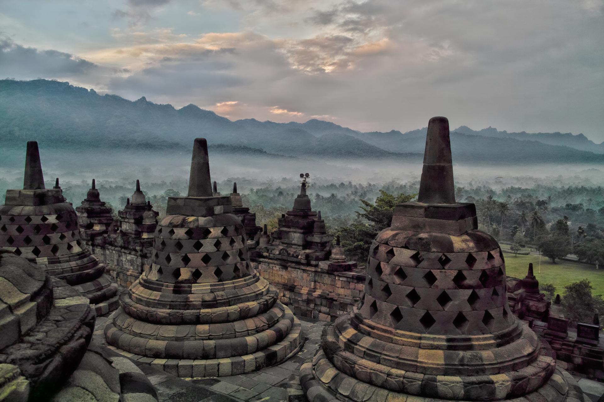 インドネシア・ジョグジャカルタの風景